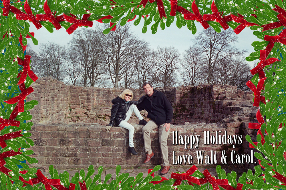 Walt's Christmas Card web