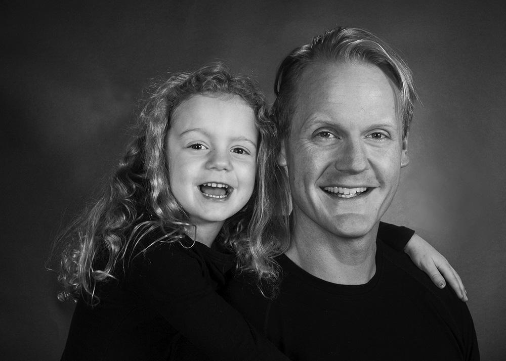Barbara Dad and Daughter